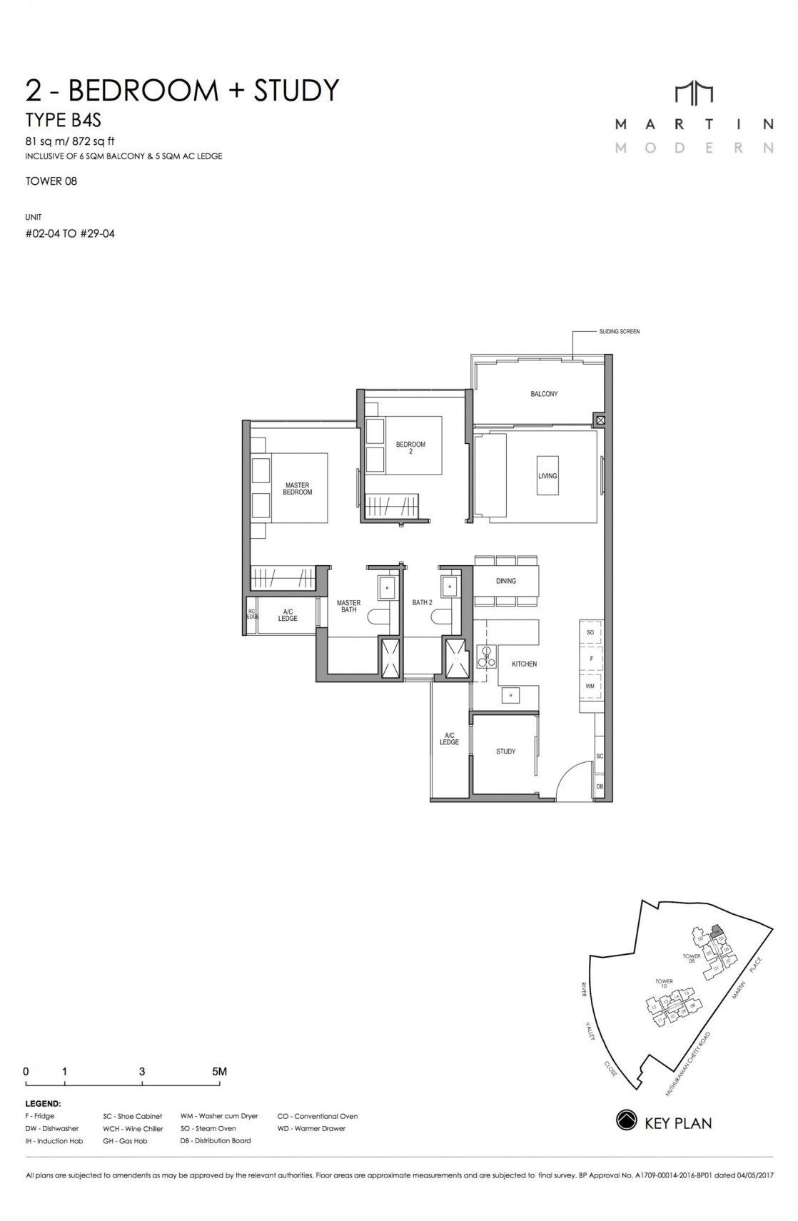 MARTIN MODERN 2-Bedroom TYPE B4S