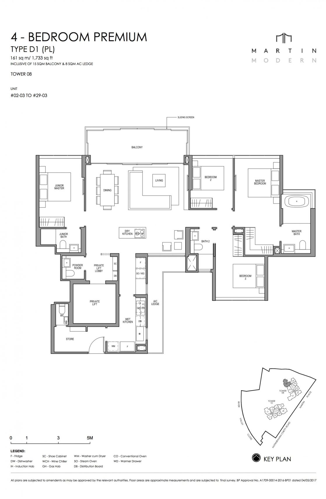 MARTIN MODERN 4-Bedroom TYPE D1PL