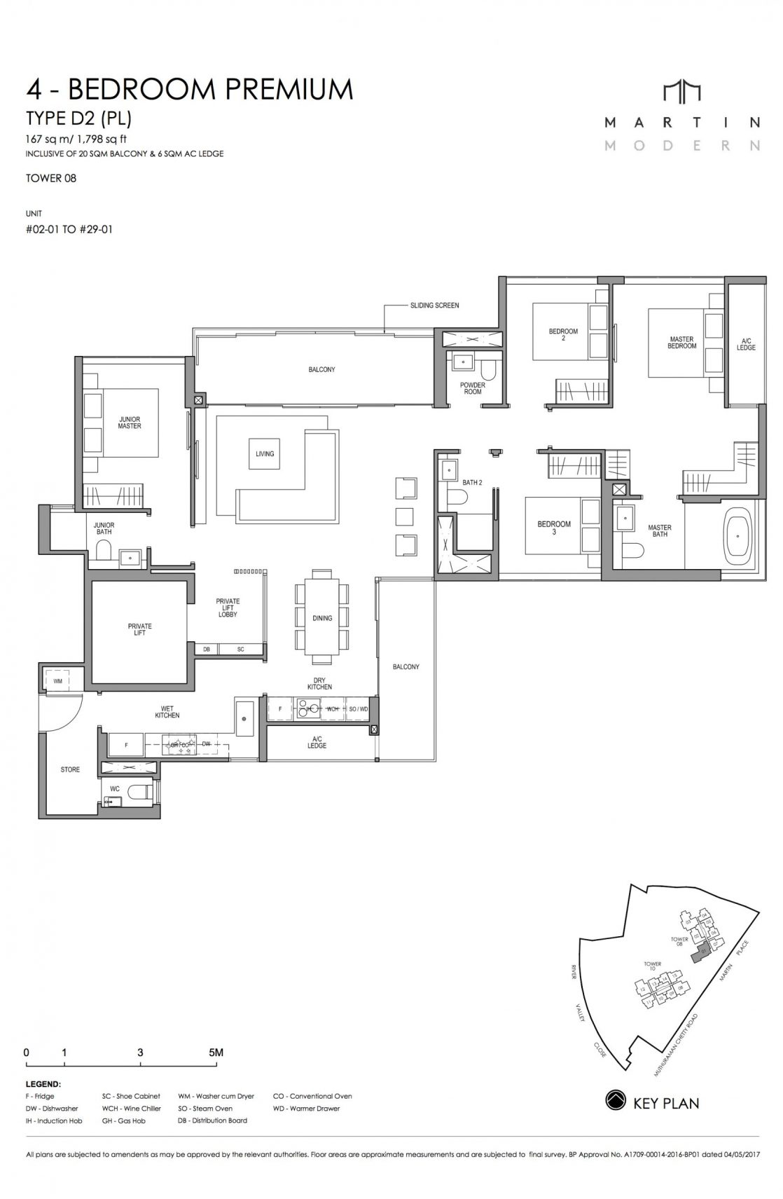 MARTIN MODERN 4-Bedroom TYPE D2PL