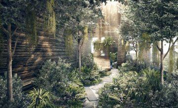 Martin Modern secret garden