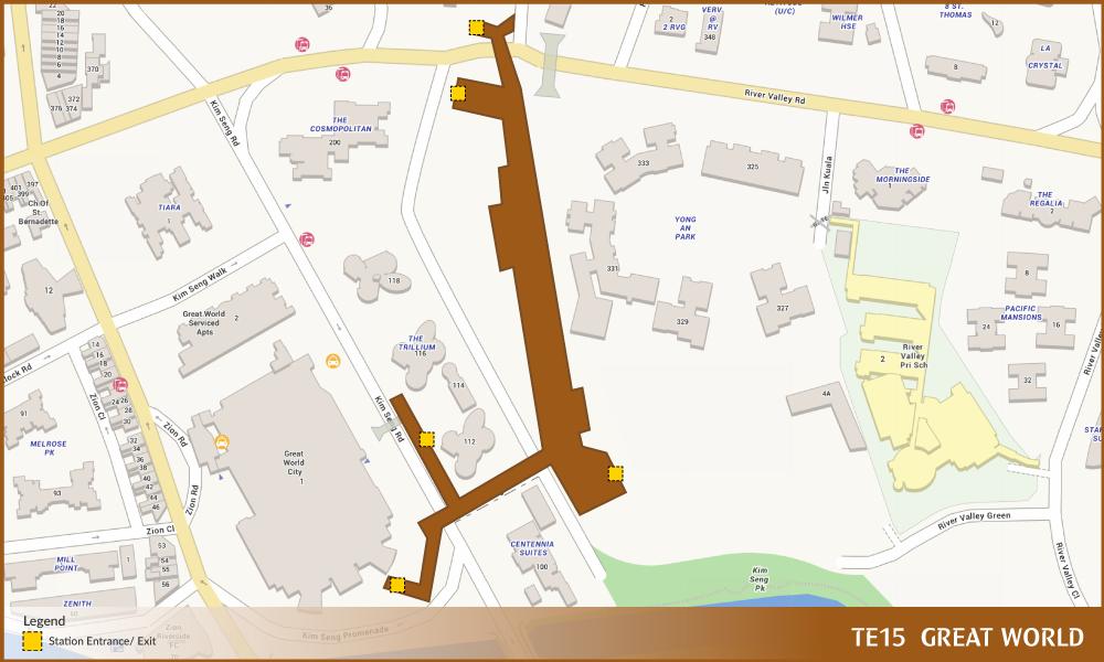TE15-Great World MRT Location