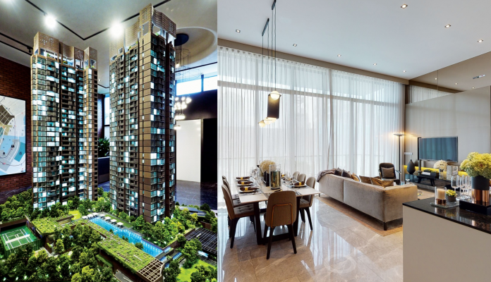 Visit Martin modern showflat and project model